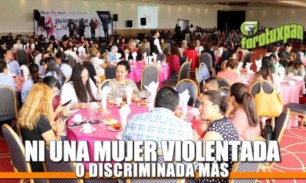 Ni una mujer violentada y discriminada más