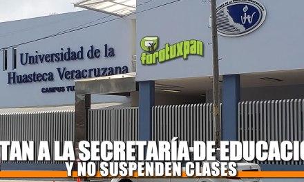 Retan a la Secretaría de Educación