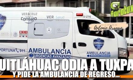Cuitláhuac ODIA a Tuxpan