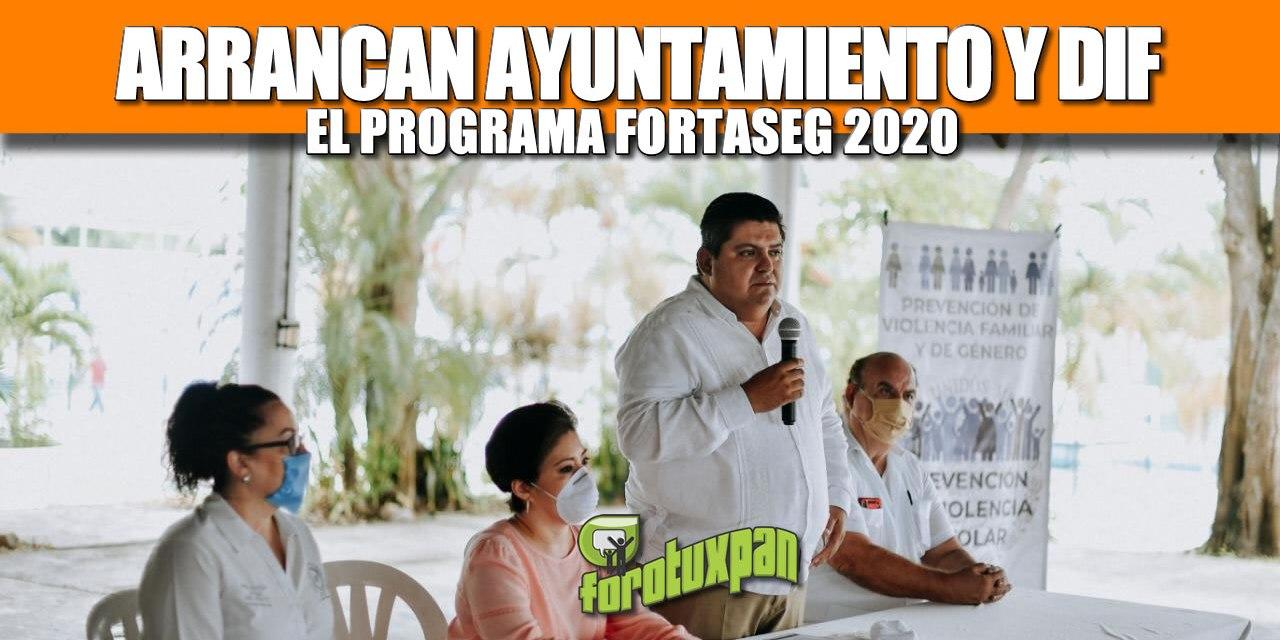 ARRANCAN AYUNTAMIENTO Y DIF EL PROGRAMA FORTASEG 2020