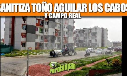 SANITIZA TOÑO AGUILAR CABO ALTO, CABO ROJO Y CAMPO REAL