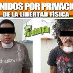 DOS DETENIDOS POR PRIVACIÓN ILEGAL DE LA LIBERTAD FÍSICA