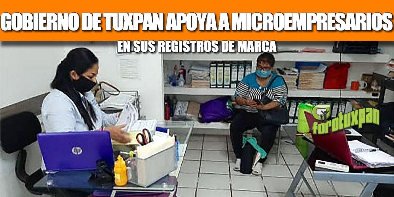 GOBIERNO DE TUXPAN APOYA A MICROEMPRESARIOS EN SUS REGISTROS DE MARCA