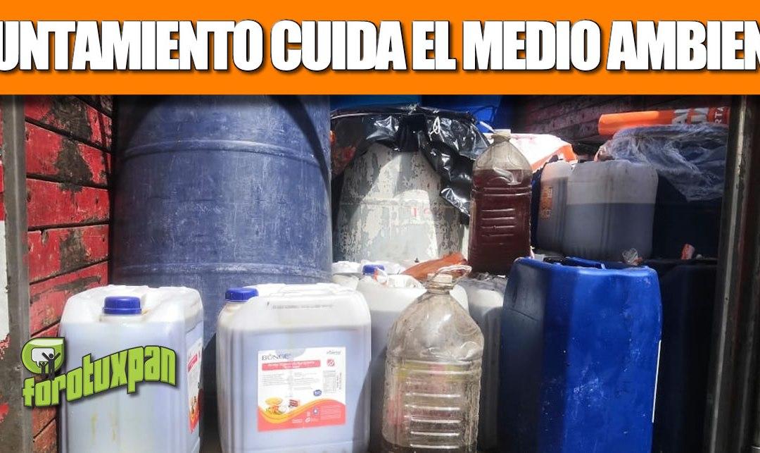 Gobierno de Tuxpan continúa con acciones para el cuidado del medio ambiente.