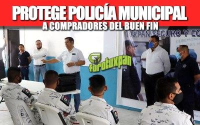 PROTEGE POLICÍA MUNICIPAL A COMPRADORES DEL BUEN FIN