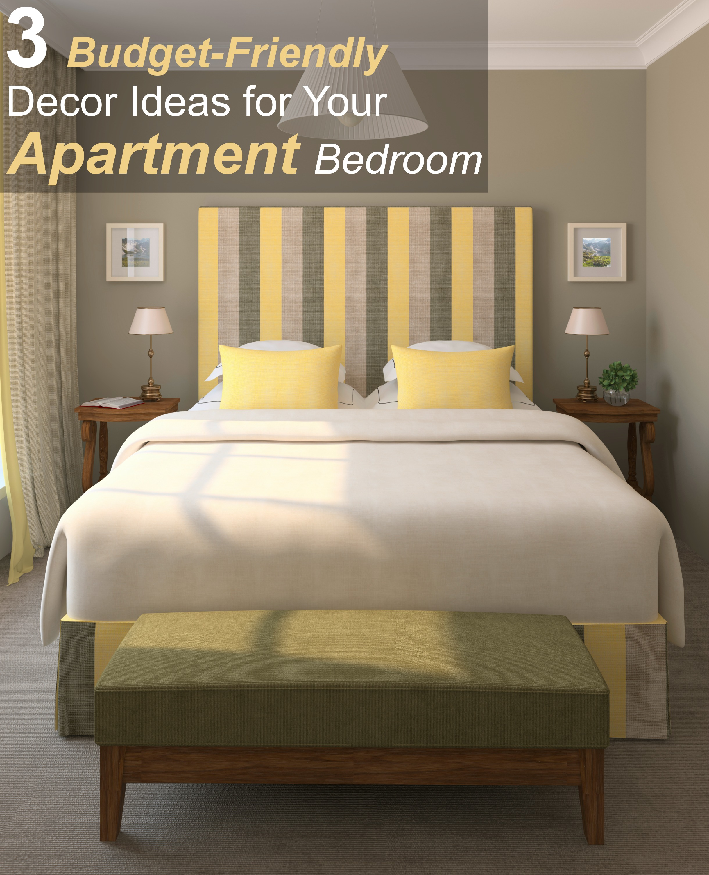 Best Kitchen Gallery: 3 Budget Friendly Decor Ideas For Your Apartment Bedroom of Bedroom On A Budget Design Ideas  on rachelxblog.com