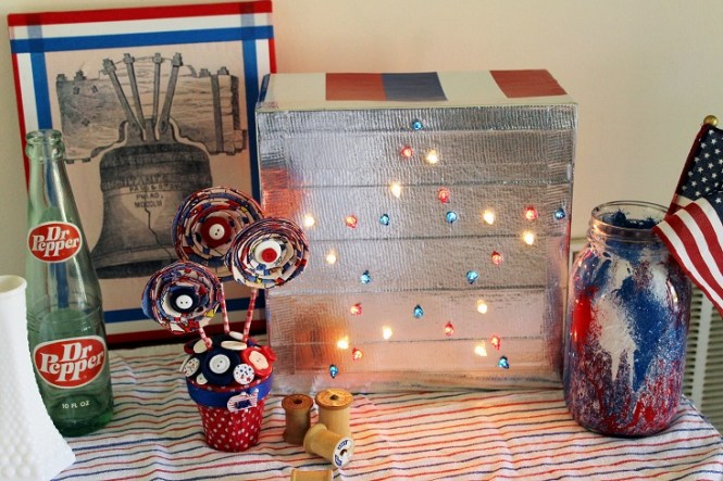 Featured Blogs Sharing July 4th Decor Ideas Patriotic Bbq Backyard