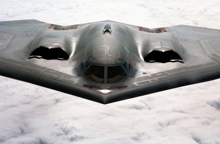 Et kig ind i et B-2 Spirit Bombefly