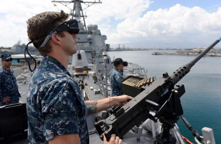 Virtual reality skal træne styrker i kamp