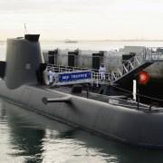 Sydkorea lancerer ubåd med guidede missiler
