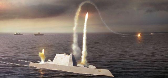 USS Zumwalt lever op til forventningerne