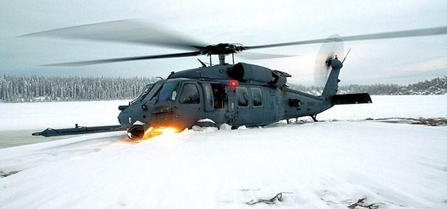 U.S. Airforce får Pave Hawk helikoptere