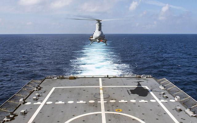 Amerikansk Flåde får ny radar på Fire Scout drone
