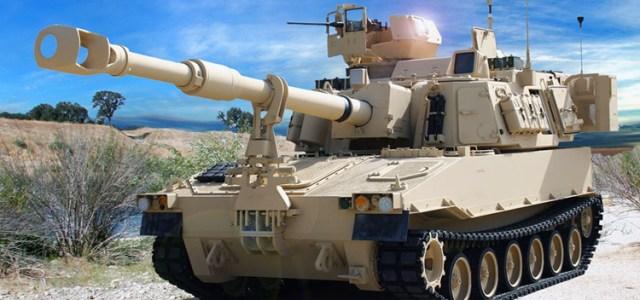 M109A7 Paladin Howitzer fejler i test