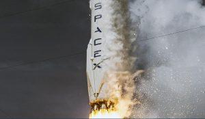 SpaceX Falcon 9 rumraket raket forsvarsindustri rumfart rumfartsindustri