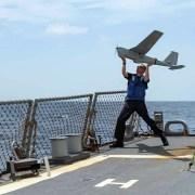 Puma AE UAS anvendes på amerikansk destroyer