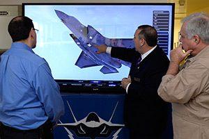F-35 simulator forsvarsindustri