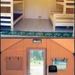 Tent Cabin Interior