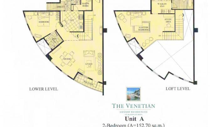 Two Bedroom Unit (Unit A 152.70 sqm)