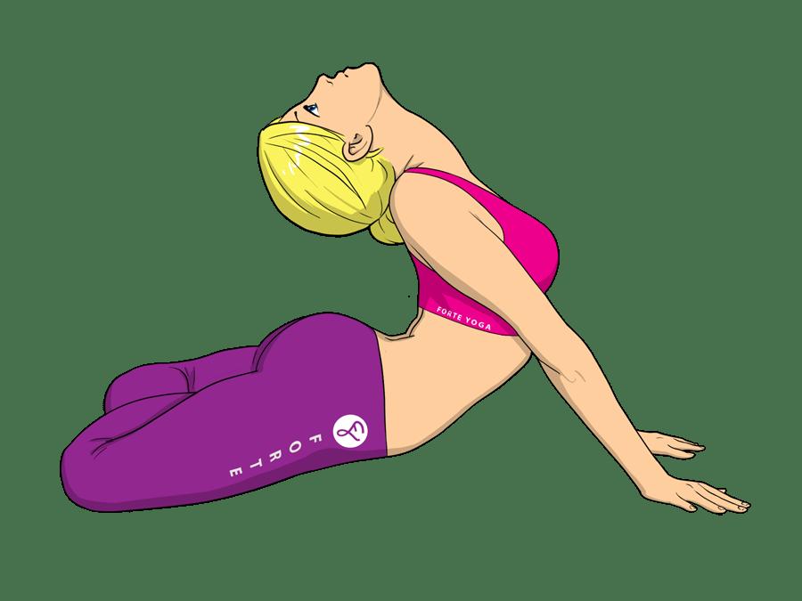 Lotus in Cobra Yoga Pose