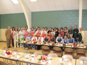 Country Fair Luncheon Crew