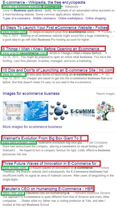 ecommerce-business-serp
