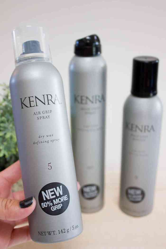 Kenra Grip Collection Review + Beachy Waves