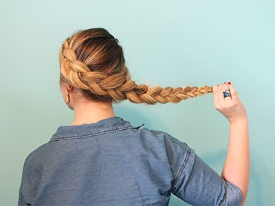 Wrap Around Dutch Braid Tutorial | For the Glitz