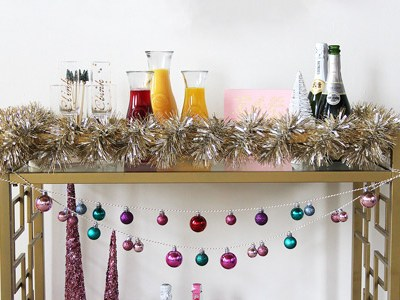 Mimosa Bar Cart | For the Glitz