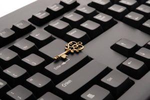 keyboard-with key