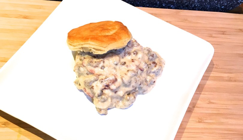 Simple Homemade Sausage Gravy for Biscuits and Gravy
