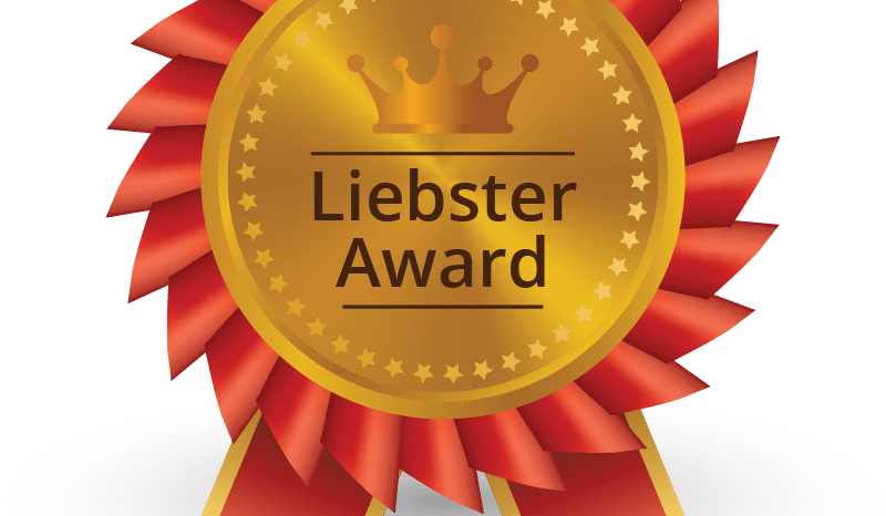 For the Love of Blank has Been Nominated for the Liebster Award!