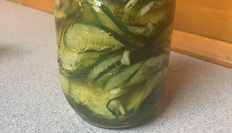 Copy Cat Homemade Chili's Pickles
