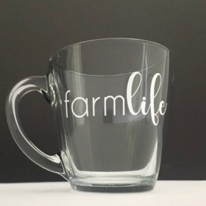 Farm Life Mug Vinyl