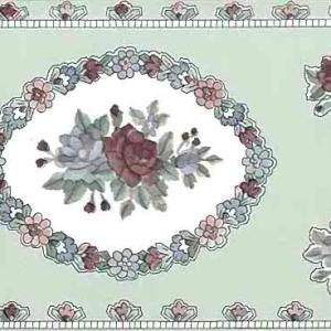 Floral Sampler Vintage Wallpaper Border UK Bedroom B1755 FREE Ship