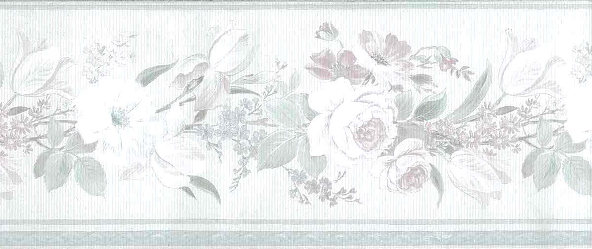 pink vintage floral wallpaper border, blue, green, cream, textured, glazed, ribbed, English cottage