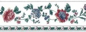 stencil vintage wallpaper border