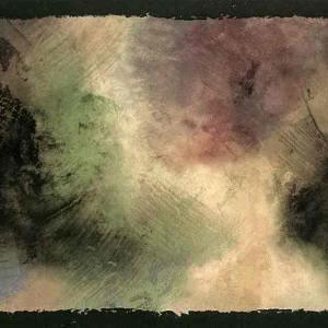 Wallpaper Border Abstract Painting Black Red AT76842B FREE Ship