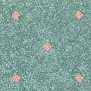 Diamond Shape Vintage Wallpaper Kitchen Green Pink AH80152 D/Rs
