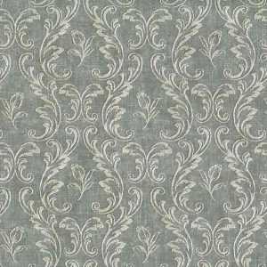 Damask Wallpaper Gray White UK AW40018 Double Rolls