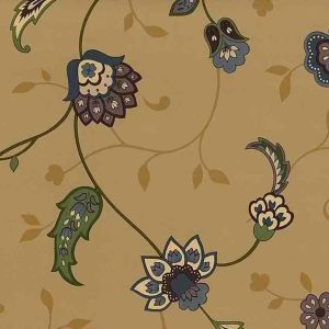 Jacobean Paisley Vintage Wallpaper Cocoa TA4103 D/Rs