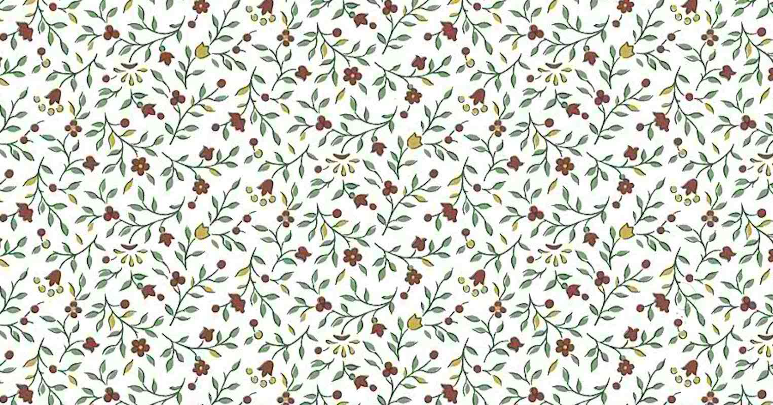 Victorian Tulips Vintage Wallpaper Floral Red Yellow 5807051 D Rs