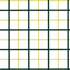 windowpane plaid vintage wallpaper, yellow plaid, green, nursery, bedroom, large-scale
