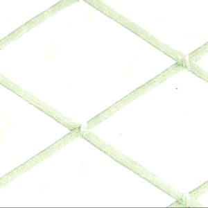 green cream lattice vintage wallpaper, UK , faux finish