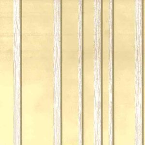 yellow striped wallpaper, stripes, stripe, vintage style, classic, foyer, bedroom, dining room, brown, off-white