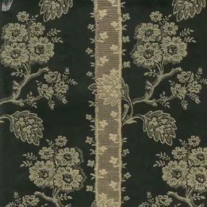 Wallpaper Oriental Black Gold Brocade LR1649 Double Rolls