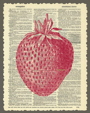 Summertime Wallpaper Highlights Food–Peaches, Strawberries, Plums