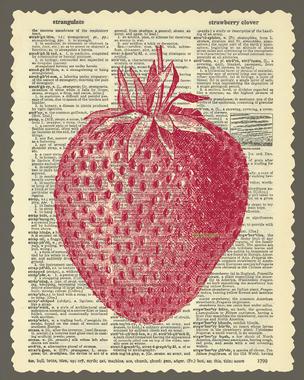 Summertime wallpaper, strawberries
