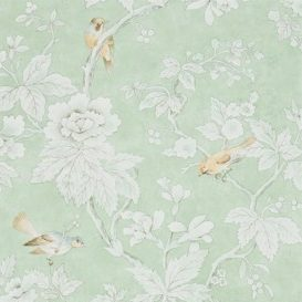 sanderson chiswick grove wallpaper, sage