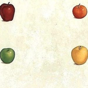 Apples Vintage Wallpaper Kitchen Fruit Red Yellow Green BP7546 D/Rs